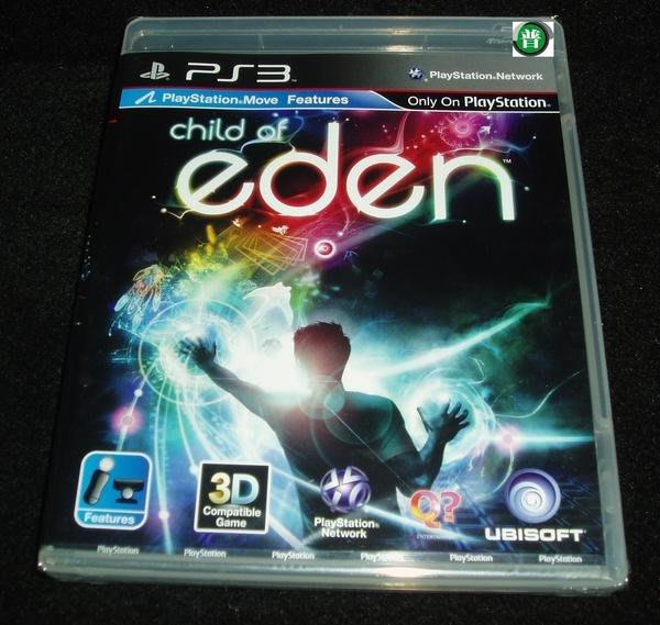 PS3 伊甸之子 Child of Eden MOVE 支援  (英文版)   【板橋魔力】