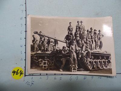 極早期,救國團,軍事戰鬥營,(有坦克)古董黑白,照片,相片3