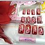 星星拍賣館- N101#- 日系3D新娘美甲貼片/ 假指...