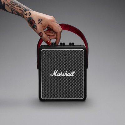《小眾數位》可試聽 Marshall Stockwell II 攜帶型藍芽喇叭 防潑水 APTX 公司貨