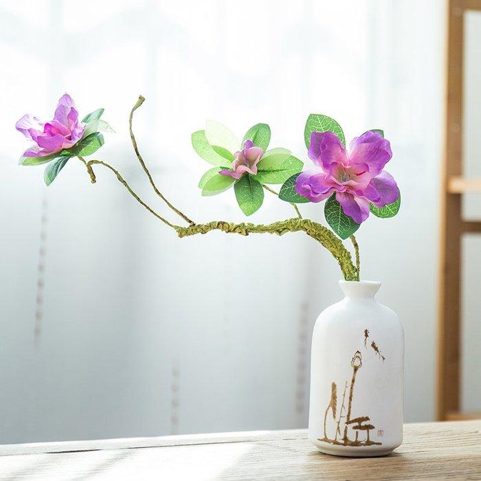爆款簡約中式花瓶擺件家居客廳酒柜裝飾陶瓷工藝品插花干花小花器水培#簡約#陶瓷#小清新
