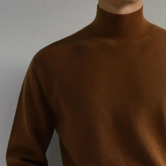 【NoComment】街頭休閒 質感簡約 百搭素面高領棉毛衣 四色 Uniqlo GU
