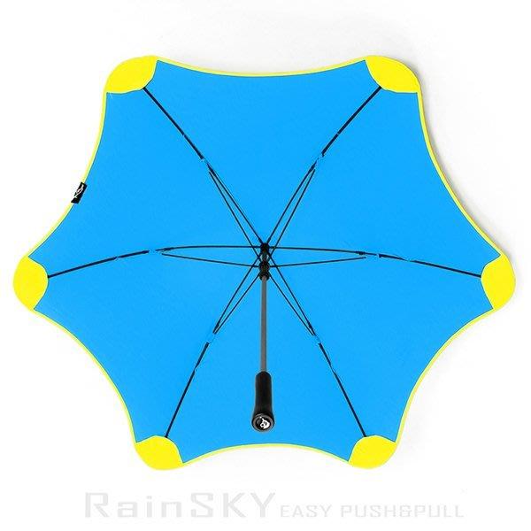 【RAINSKY傘】WindShear_颶風傘 (晴*黃) /雨傘防風傘抗風傘手開傘直傘直立傘長傘大傘防UV傘 (免運)