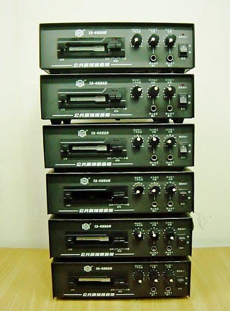 保固3個月【小劉2手家電】 磁頭少用很新的SHOW錄音帶迷你擴大機,TA-450AR型,音質佳,壞機可修理/回收!