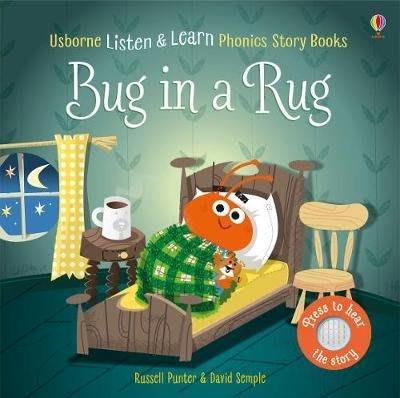 全新 現貨 Usborne Bug in a Rug 有聲書