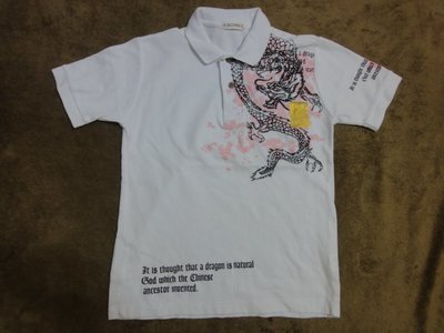 (抓抓二手服飾)  EXCUSE  POLO衫   M   (C178)
