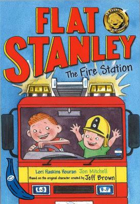 *小貝比的家*BLUE BANANAS: FLAT STANLEY AND FIRE STATION/平裝/7~12歲