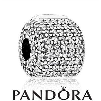 金永珍珠寶鐘錶* 2016最新母親節款 台灣沒賣 PANDORA 潘朵拉 原廠真品 白滿鑽固定扣 現貨*