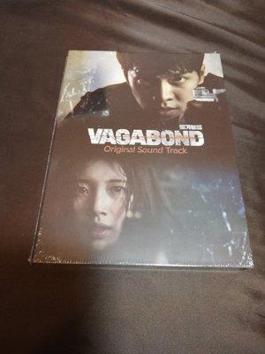 全新韓劇【VAGABOND 浪客行 】OST 原聲帶 CD (韓版) 李昇基 裴秀智 申成祿