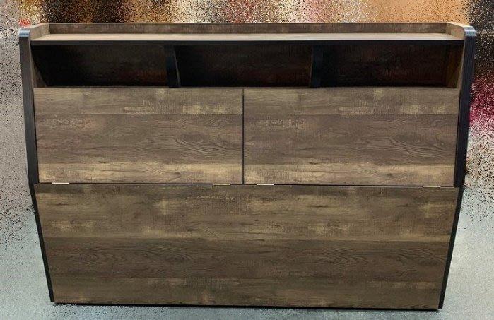 【樂居二手家具館】 台中中古傢俱賣場 LC113CB7 全新秘境5尺床頭櫃 收納櫃 2手臥室家具拍賣 租屋家具
