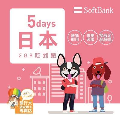 【瘋殺價】日本網卡【5天2GB吃到飽上網卡】 4G高速上網卡SIM卡  隨插即用 全區適用【MLDJP02】