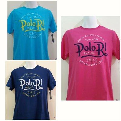 現貨 正品Ralph Lauren RL POLO短袖T恤(男女皆可穿)
