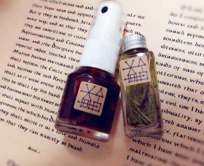 『藥魂魔法事務所』升級版  魔法油+手釀噴霧系列