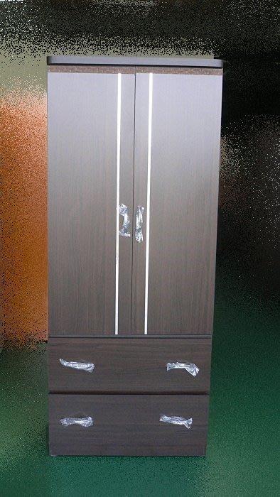 樂居二手家具 BN-A09*全新銀條胡桃木單人衣櫃 衣櫥 收納櫃*庫存傢俱拍賣 床組 床墊 床架 便宜家二手傢俱賣場