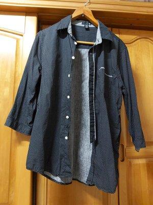 (清衣櫃)西裝襯衫 50% FIFTY PERCENT 七分袖 襯衫 肩寬44 衣長60