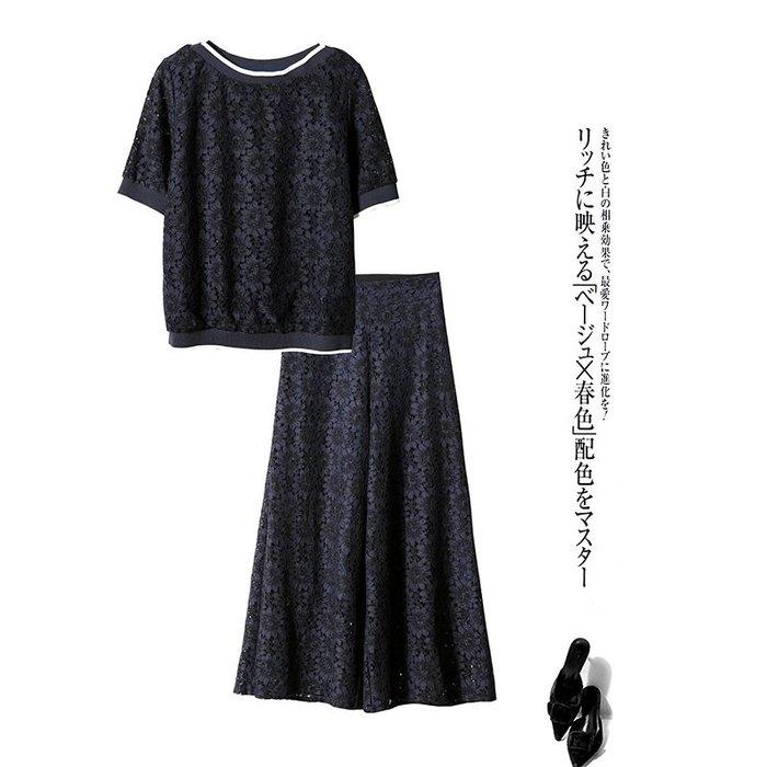 GoodStyle 歐美新款 立體蕾絲花朵 舒適彈力上衣 優質選擇~特