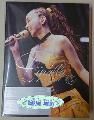 [海豚雜貨舖]安室奈美惠namie amuro Final Tour 2018 ~Finally~札幌場初回DVD盤