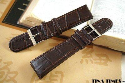 TINA TIMES ~GISELLE專為ORIS Rectangular 方形月相盈虧錶設計的錶帶 20mm 22mm