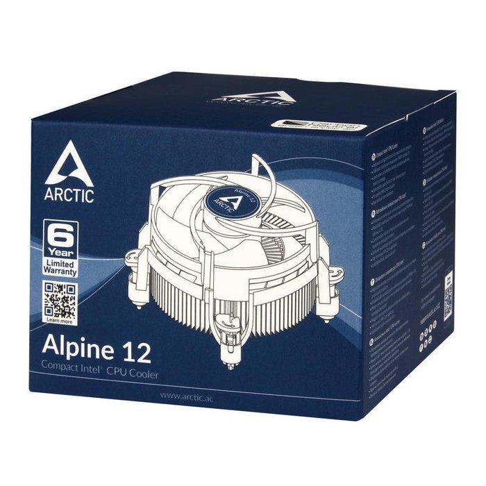 光華CUMA散熱精品*ARCTIC Alpine 12 CPU散熱器 支援LGA 115X~現貨