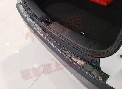 (小鳥的店)豐田 2020-21 Corolla Cross 後保桿護板 (黑鈦絲) 防刮飾條 尾箱門檻踏板