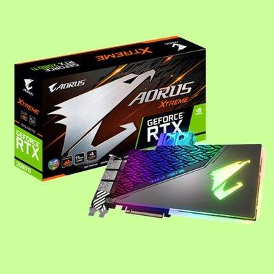 5Cgo【聯強】技嘉 NVIDIA AORUS GeForce RTX 2080 Ti XTREME11G 顯示卡 含稅