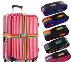 旅游行李箱十字打包帶加長捆綁帶托運包加固帶旅行箱綁帶用品