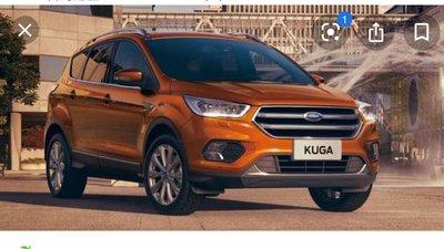 Ford KUGA MK2 2.0L柴油原廠18吋框(前加大兩片式劃線碟盤350mm+延長基座 )SBK226FA-3B