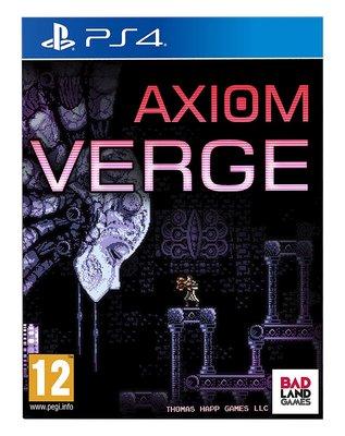 全新未拆 PS4 公理邊緣 -英文版- Axiom Verge 類銀河戰士與惡魔城