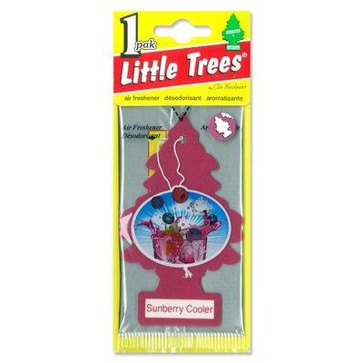 (I LOVE樂多)USA Little Trees 小樹 綜合水果香味 香片 香味持續8週 車掛/衣櫥/置物間