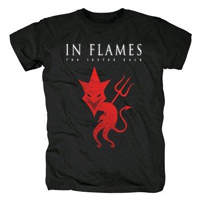 in flames斯堪的納維亞金屬The Jester Race專輯旋律死亡金屬T恤