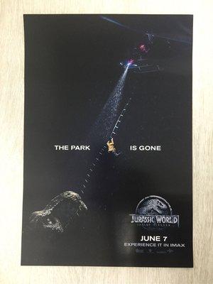 全新 Jurassic World IMAX Poster (可換其他IMAX款)