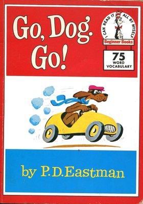 英文童書繪本 Go, Dog. Go! 《Beginner Books》75 Word Vocabulary