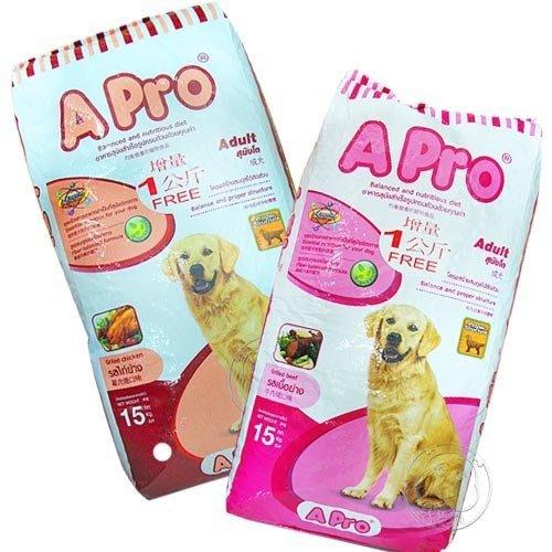 【🐱🐶培菓寵物48H出貨🐰🐹】A-Pro》成犬專用飼料重量包15kg 特價656元(限宅配)(自取不打折)