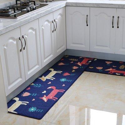 ☜男神閣☞廚房長條地墊定制床邊毯門廳腳墊臥室衛浴防滑墊進門地墊地毯門墊