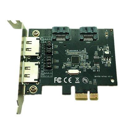PCI-e轉雙口 SATA-II 卡
