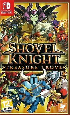 【全新未拆】任天堂 SWITCH NS 鏟子騎士 無價之寶 5種遊戲方式 SHOVEL KNIGHT 中文版 台中
