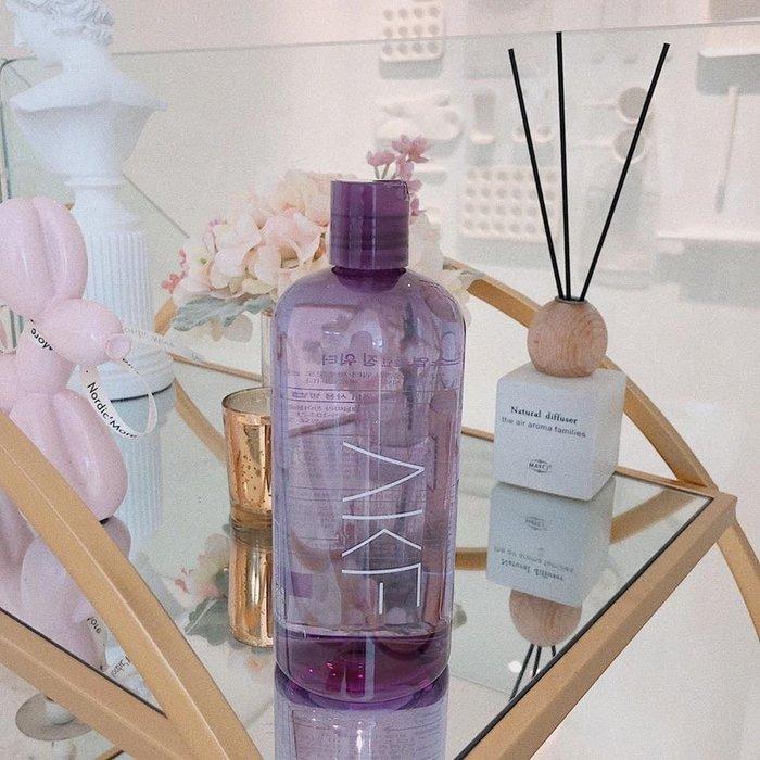美麗喵。現貨。韓國 AKF 紫蘇卸妝水 500ml