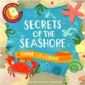 『大衛』發光原文書 Secrets of the Seashore:A Shine-a-Light Book