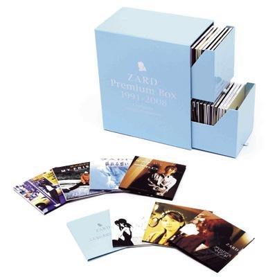 代訂 ZARD PREMIUM BOX SET 1991-2008 49張CD+特典DVD1張 坂井泉水單曲大全集