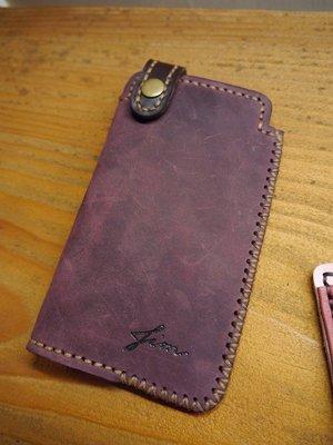 KH手工皮革工作室MIT全牛皮三星S20Ultra Note20Ultra 簡約款手機皮套 配色自選量身訂製可燙字情人節