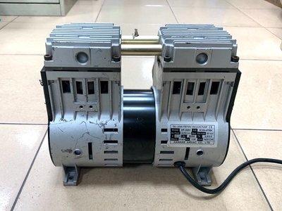 允統財KAWAKE VACUUM PUMP DP-200V無油式真空幫浦/真空機/無油式空壓機---正壓/負壓均可使用