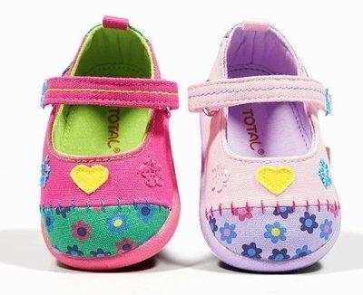 『※妳好,可愛※』 甜美小花 拼布風 學步鞋 嬰兒鞋 寶寶彌月禮 寶寶鞋