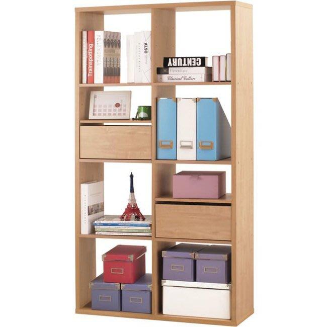 辦公室/客廳【居家大師】八格加厚收納櫃(附抽屜&活動板) 置物櫃 櫃子 玄關櫃 隔間櫃 書櫃 書架 展示櫃 2168NA