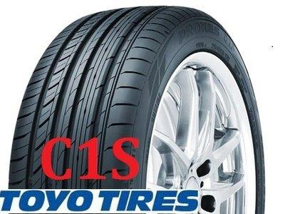 Toyo東洋 C1S 215/60/16 運動型轎跑胎 店面專業安裝[上輪輪胎]