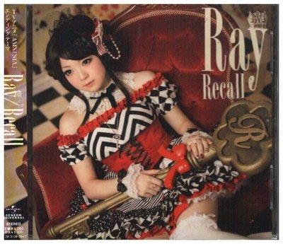新尚唱片/ RAY RECALL 二手品-01484792