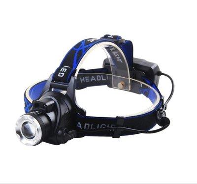 戶外LED頭燈強光充電超亮感應遠射米3000頭戴式電筒夜釣捕魚礦燈