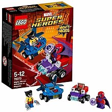 Lego Super Heroes Mighty Micros 76073 (Kenson's Toys Shop) same series as 76072