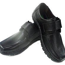 美迪~子母鱷魚BCF 8467 魔帶款-純皮氣墊休閒鞋~黑