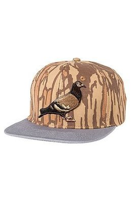 【GiantMall】STAPLE IRONWOOD SNAPBACK 紐約 鴿子 經典 電繡 棒球帽 卡其色