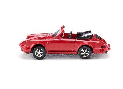 傑仲(有發票) 博蘭 公司貨 WIKING Porsche 911 SC Cabriolet-rot 016203 HO